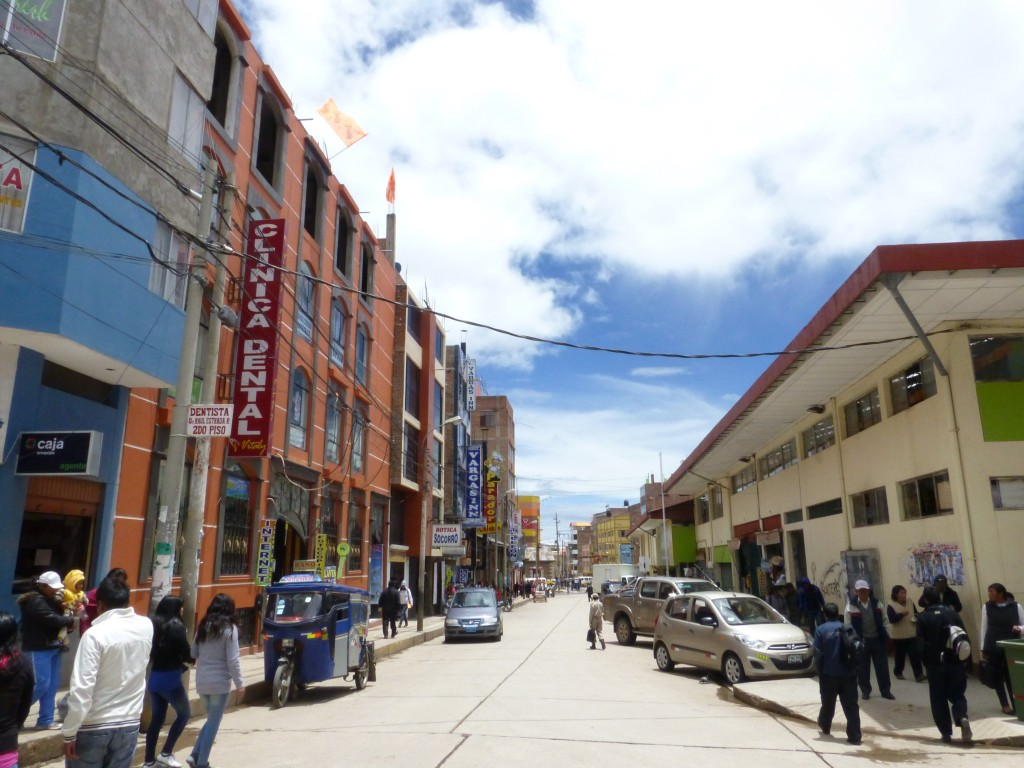 Downtown Puno