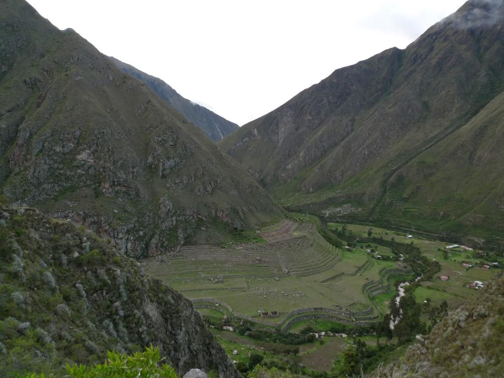 An Incan site along el Camino Inka